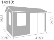 14x10 (4150x2950) £ 3364.98