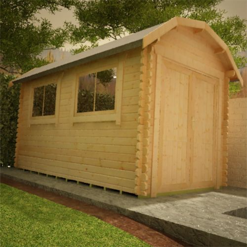 The Aldford Barn 28mm Log Cabins For Sale Is A Great