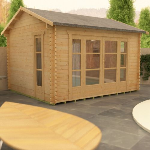 1clicklogcabins-bamber-side-view