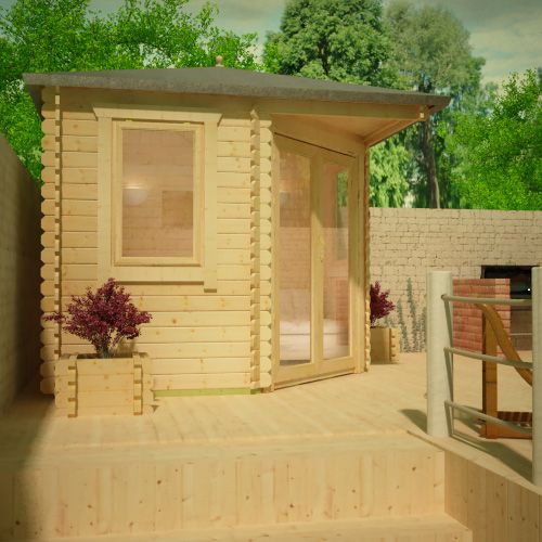 1clicklogcabins-bradwell-corner-log-cabin-side-view