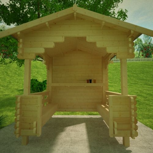 1clicklogcabins-outdoor-shelter-front-view