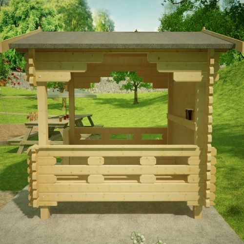 1clicklogcabins-outdoor-shelter-side-view