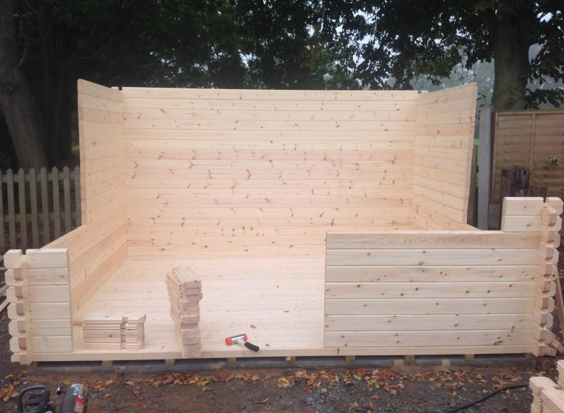 How To Build a Log Cabin   1 Click Log Cabins