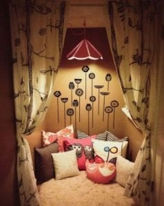 Childs Den With Soft Furnishing