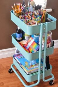 Childs Storage Trolley