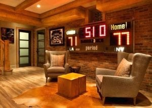 Mancave For Sports Fan